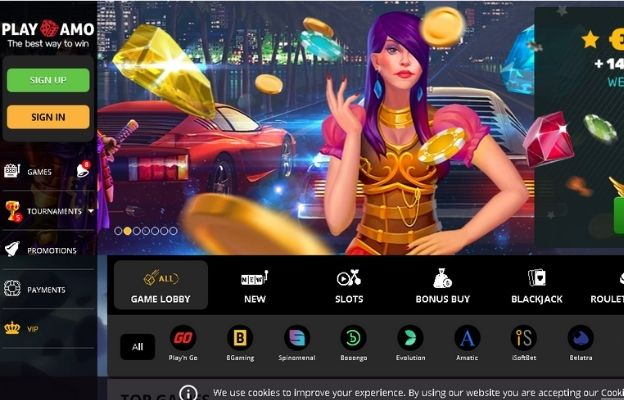 highest paying online casinos play amo